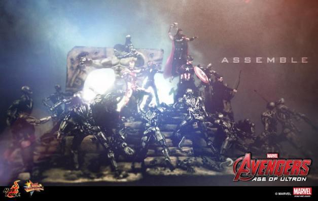 Hot Toys Avengers Age of Ultron dioarama