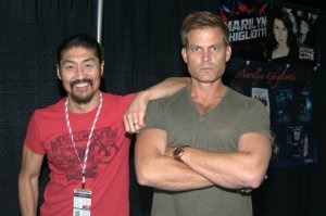 Awesome Con 2015 Day 1 - Brian Tee and Casper Van Dien