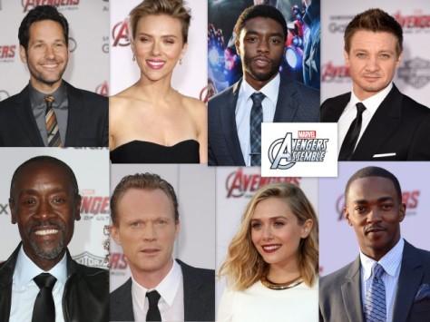 Captain America Civil War Avengers cast