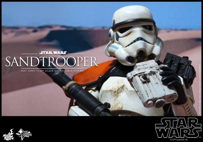 Hot Toys reveals Star Wars Sandtroopers