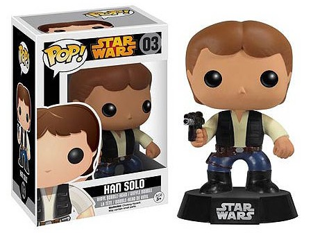 Star Wars Han Solo Pop! Vinyl Figure exclusive