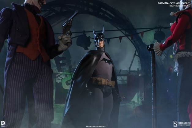 Batman Gotham Knight Sideshow - vs Joker and Harley
