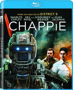 Chappie BLU-Ray cover