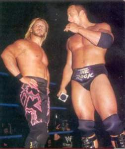 Chris Jericho and The Rock