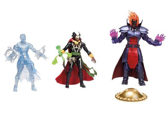Dr. Strange Marvel Legends boxset - Dr. Strange, Brother Voodoo and Dormammu