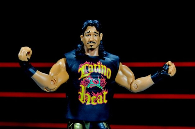 Eddie Guerrero Hall of Fame figure review -main shirt close up