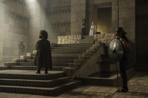 Game of Thrones - Hardhome - Tyrion in Dany's court