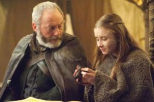 Game of Thrones - S5Ep. 9 - Dance of Dragons -Davos and Shireen
