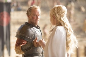 Game of Thrones - S5Ep. 9 - Dance of Dragons - Jorah and Dany