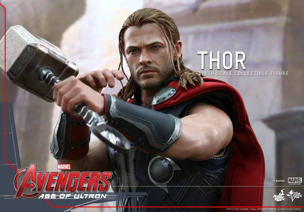 Hot Toys Thor Avengers Age of Ultron figure - upclose detail