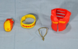 Hulk Hogan Hall of Fame figure - accessories