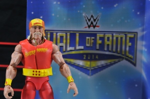 Hulk Hogan Hall of Fame figure - with package liner