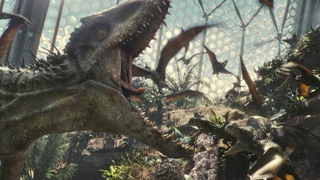 Jurassic World - hybrid dinosaurs