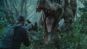 Jurassic World - Indominus Rex attacks
