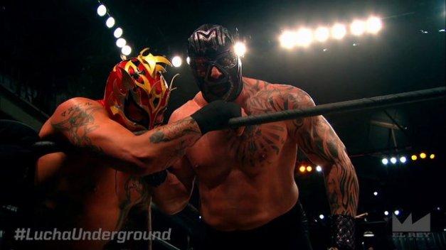 Lucha Underground - Fenix vs Mil Muertes