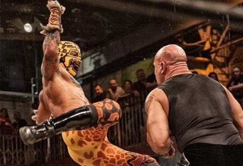 Lucha Underground -Prince Puma vs Hernandez