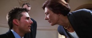 Mission Impossible 1996 - Tom Cruise and Vanessa Redgrave