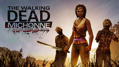The Walking Dead Michonne-001