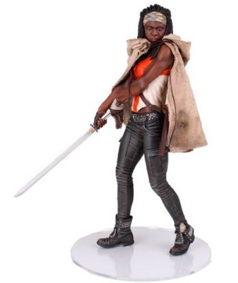 The Walking Dead Michonne statue
