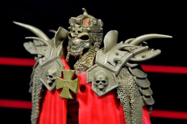 Triple H WWE Mattel Elite 35 - mask closeup