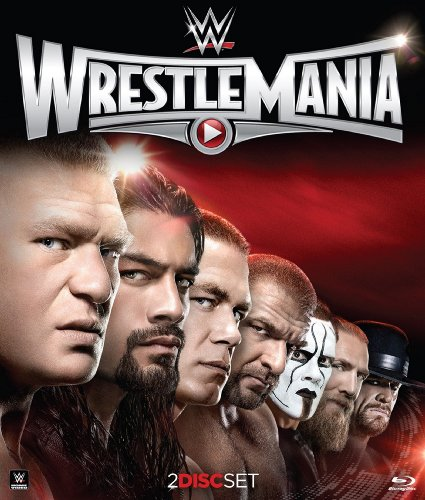 Wrestlemania 31 Blu Ray cover