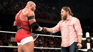 WWE Elimination Chamber 2015 - Ryback and Daniel Bryan