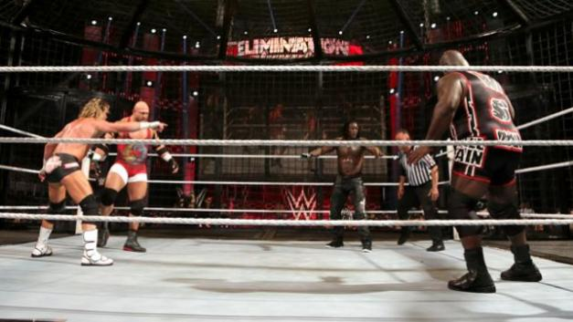 WWE Elimination Chamber 2015 - Ziggler vs Ryback vs Henry vs Truth