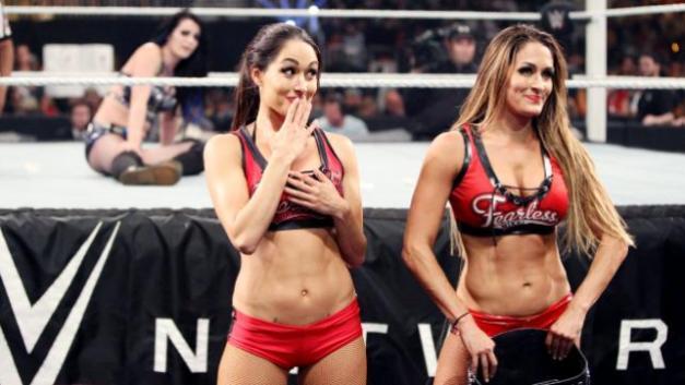 WWE Money in the Bank 2015 - Bellas Twin Magic