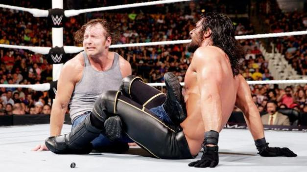 WWE Money in the Bank 2015 - Dean vs Seth