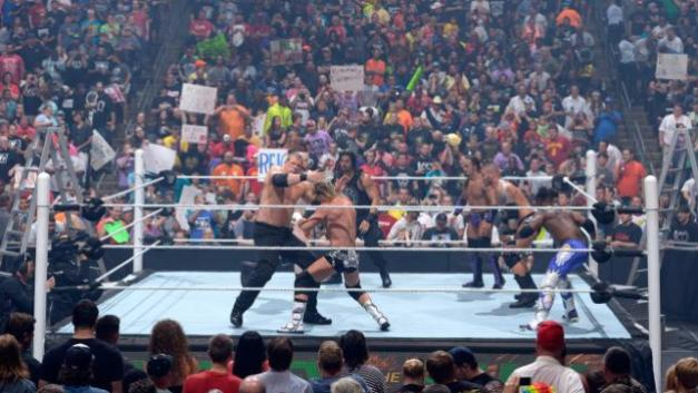 WWE Money in the Bank 2015 - MITB match