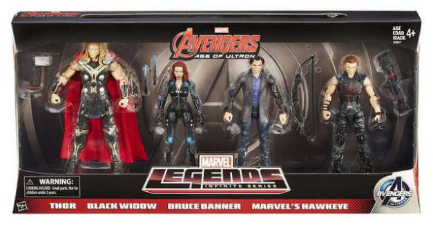 Amazon.com Avengers 6 Movie Legends Action Figure (Pack of 4) Toys & Games - Mozilla Firefox 792015 55937 PM
