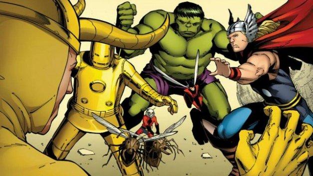 Ant-Man founding Avengers member Avengers vs Loki