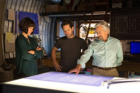 Ant Man - Hope van Dyne, Scott Lang and Hank Pym