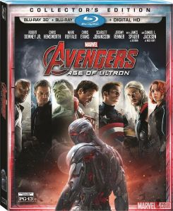 Avengers Age of Ultron Blu-Ray cover 3D