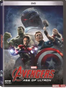 Avengers Age of Ultron DVD cover