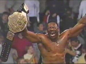 Booker T wins WCW title