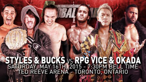 Bullet Club vs Okada and RPG Vice