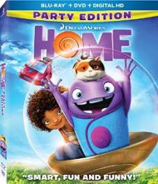 Home - Blu ray cover