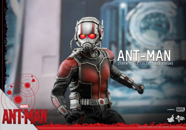 Ant Man figure from Hot Toys is ready for his close-up