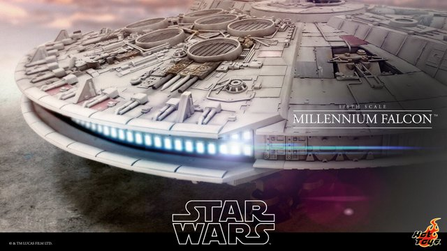 Is Hot Toys teasing collectors with a 12″ scale Millennium Falcon?