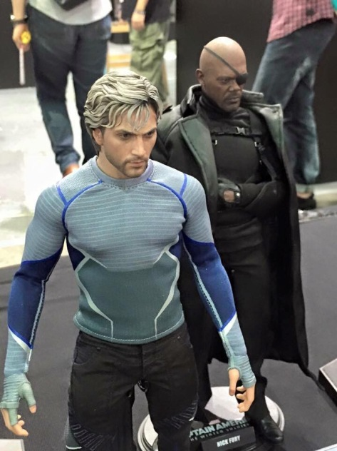 Hot Toys Quicksilver and Nick Fury