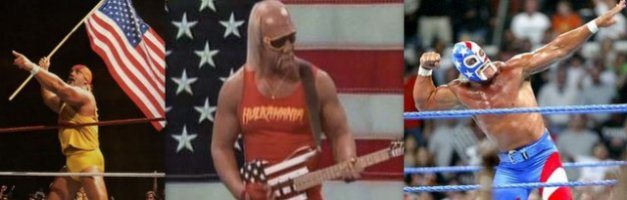 Hulk Hogan real American patriot