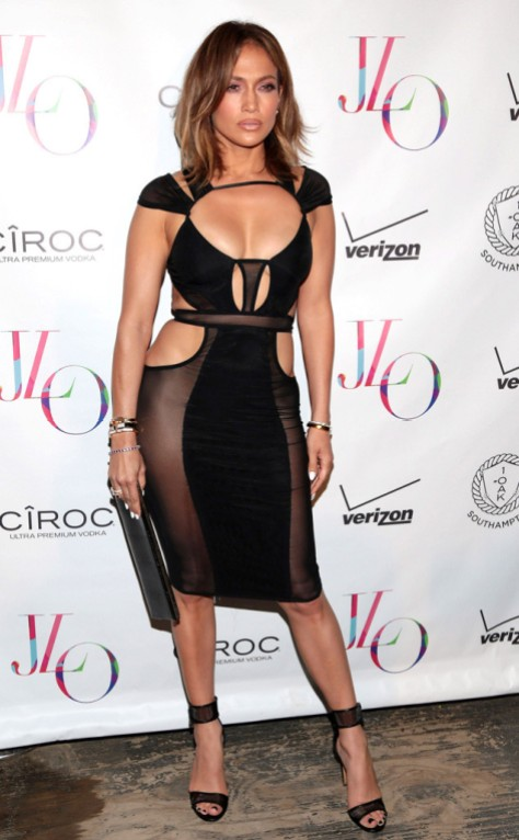 Jennifer Lopez 46th bday party