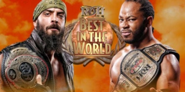 Lethal vs Briscoe ROH Best in the World 2015