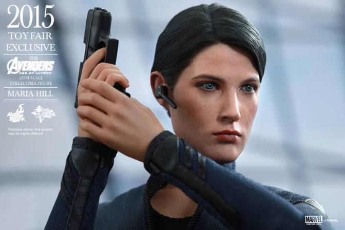 Maria Hill Avengers: Age of Ultron figure from Hot Toys sparkles