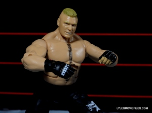 Mattel Brock Lesnar WWE figure - Brock ready
