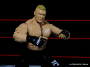 Mattel Brock Lesnar WWE figure - Brock ready