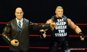 Mattel Brock Lesnar WWE figure - with Paul Heyman