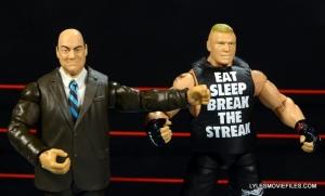 Mattel Brock Lesnar WWE figure - with Paul Heyman