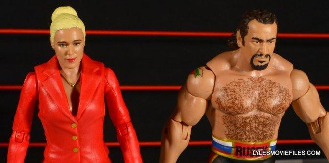 WWE Mattel Rusev and Lana Battle Pack figure review